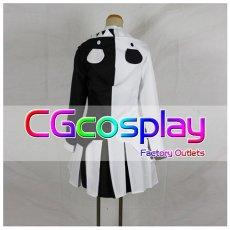 画像2: 激安!! ダンガンロンパ 希望の学園と絶望の高校生 モノクマ 擬人化 女性化 コスプレ衣装  (2)