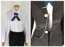 画像4: 激安!! ダンガンロンパ 希望の学園と絶望の高校生 十神白夜 コスプレ衣装  (4)