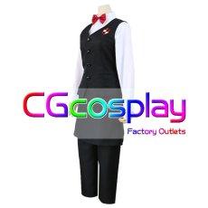 画像2: 激安!! デス•ビリヤード バーテンダー コスプレ衣装 (2)