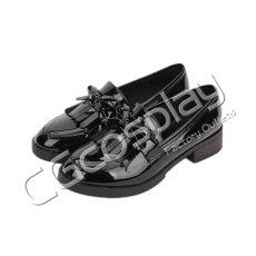 画像3: 激安! 猫姫 冬靴 学院タイプ 革靴 厚底 靴 ブーツ (3)