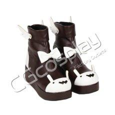 画像3: 激安! ラビット 冬靴 プラットフォーム・ソール 厚底 靴 ブーツ 大人|女性|  (3)