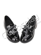 画像1: 激安! 猫姫 冬靴 学院タイプ 革靴 厚底 靴 ブーツ (1)
