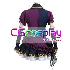 画像3: 激安!! BanG Dream!(バンドリ)  BLACK SHOUT Roselia ロゼリア 宇田川あこ コスプレ衣装 (3)