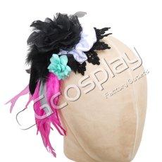 画像6: 激安!! BanG Dream!(バンドリ)  BLACK SHOUT Roselia ロゼリア 氷川紗夜 コスプレ衣装 (6)