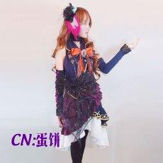 画像2: 激安!! BanG Dream!(バンドリ)  BLACK SHOUT Roselia ロゼリア 今井リサ コスプレ衣装 (2)