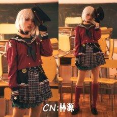 画像5: 「一部在庫」激安!! BanG Dream!(バンドリ) Afterglow ロストワンの号哭 青葉モカ コスプレ衣装 (5)