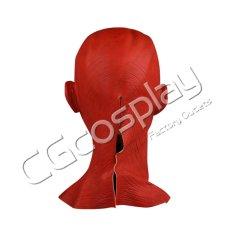 画像2: 激安!! ハロウィン 仮面 レッドスカル マスク かぶりもの 55cm〜62cm コスプレ道具 コスプレ衣装 (2)