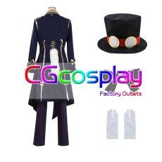 画像2: 激安!! IdentityV アイデンティティV 第五人格 写真家 ジョゼフ 月下の紳士 コスプレ衣装 (2)