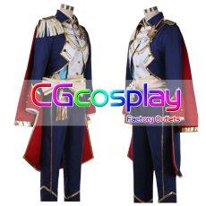 画像2: 激安!! あんさんぶるスターズ! Knights(ナイツ) 返礼祭 鳴上 嵐 コスプレ衣装 (2)