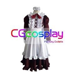画像1: 激安!! FGO Fate/Grand Order Fate/GO フランケンシュタイン メイド服  コスプレ衣装 (1)