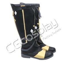 画像2: 激安!! FINAL FANTASY XIV ファイナルファンタジーXIV FF14 FFXIV 帝国軍 コスプレ靴/ブーツ コスプレ衣装 (2)