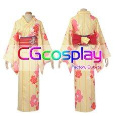 画像2: 激安! Fate/Grand Order FGOxGoogle Playギフトカード マシュ・キリエライト 浴衣 コスプレ衣装 (2)
