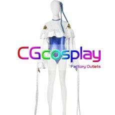 画像1: 激安! Fate/Grand Order 水着メルトリリス 第二段階 コスプレ衣装 (1)