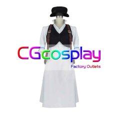 画像1: 激安!! OCTOPATH TRAVELER オクトパストラベラー 商人 トレサ・コルツォーネ コスプレ衣装 (1)
