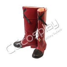 画像2: 激安!! #コンパス 戦闘摂理解析システム ソーン=ユーリエフ コスプレ靴/ブーツ コスプレ衣装 (2)