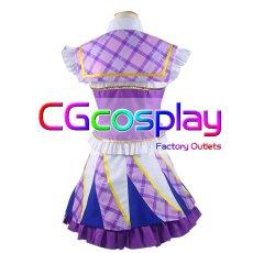 画像3: 激安!! アイカツ! 紫吹蘭 パレード コスプレ衣装 (3)