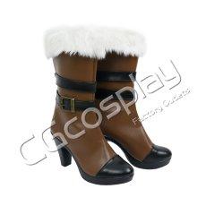 画像2: 激安!! バーチャルYouTuber Vtuber ホロライブ5期生 雪花ラミィ コスプレ靴/ブーツ コスプレ衣装 (2)