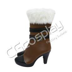 画像3: 激安!! バーチャルYouTuber Vtuber ホロライブ5期生 雪花ラミィ コスプレ靴/ブーツ コスプレ衣装 (3)