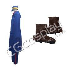 画像4: 激安!! ゴールデンカムイ 月島軍曹 コスプレ衣装  (4)