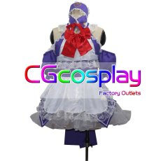 画像1: 激安!! Fate/Grand Order シュヴァリエ・デオン 正義のメイド服ナイト コスプレ衣装 (1)