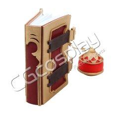 画像4: 激安!! グランブルーファンタジー GRANBLUE FANTASY カリオストロ 本 コスプレ道具 コスプレ衣装 (4)