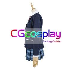 画像3: 激安!! プロジェクトセカイ カラフルステージ! プロセカ 白石杏 制服 コスプレ衣装 (3)