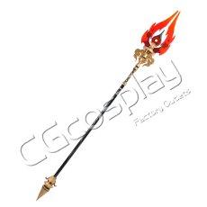 画像3: 激安!! 原神 げんしん 星5武器 長柄武器 護摩の杖 コスプレ道具 コスプレ衣装 (3)