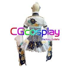 画像4: 激安!! ラブライブスクールアイドルフェスティバル 三船栞子 決意の光 コスプレ衣装 (4)