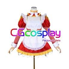 画像1: 激安!! Fate/Grand Order FGO ネロ・クラウディウス メイド服 コスプレ衣装 (1)