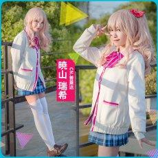 画像5: 激安!! プロジェクトセカイ カラフルステージ! プロセカ 暁山瑞希 制服 コスプレ衣装 (5)