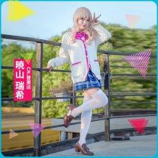 画像4: 激安!! プロジェクトセカイ カラフルステージ! プロセカ 暁山瑞希 制服 コスプレ衣装 (4)