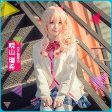 画像6: 激安!! プロジェクトセカイ カラフルステージ! プロセカ 暁山瑞希 制服 コスプレ衣装 (6)