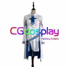 画像1: 激安!! 蒼藍の誓い ブルーオース アルジェリア コスプレ衣装 (1)