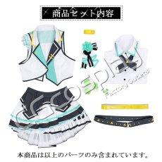 画像6: 激安!! プロジェクトセカイ カラフルステージ! プロセカ MORE MORE JUMP! 日野森雫 コスプレ衣装 (6)