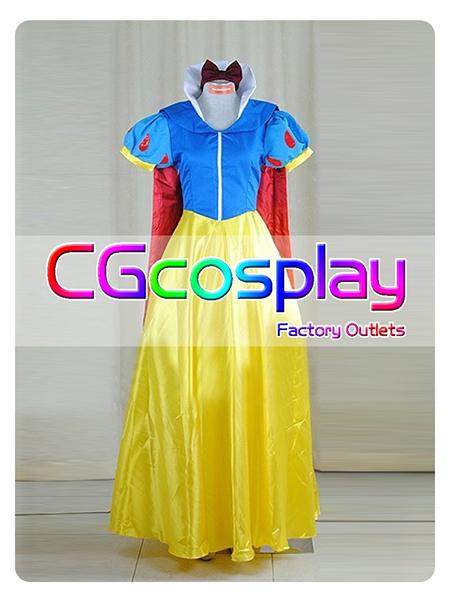 画像1: 激安!! ディズニー 白雪姫 コスプレ衣装 (1)