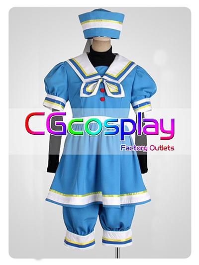画像1: 激安!! ディズニー ミニーマウス ケープコッド ハロウィン コスチューム 変装 コスプレ衣装 (1)