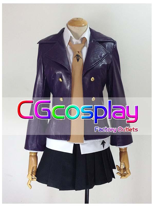 画像1: 激安!! ダンガンロンパ 希望の学園と絶望の高校生 霧切響子 コスプレ衣装  (1)