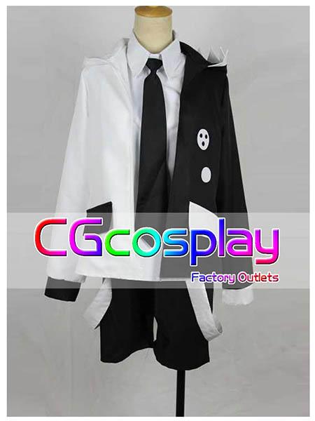 画像1: 激安!! ダンガンロンパ 希望の学園と絶望の高校生 モノクマ 擬人化 コスプレ衣装  (1)