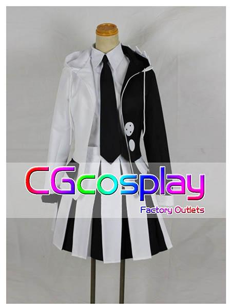 画像1: 激安!! ダンガンロンパ 希望の学園と絶望の高校生 モノクマ 擬人化 女性化 コスプレ衣装  (1)