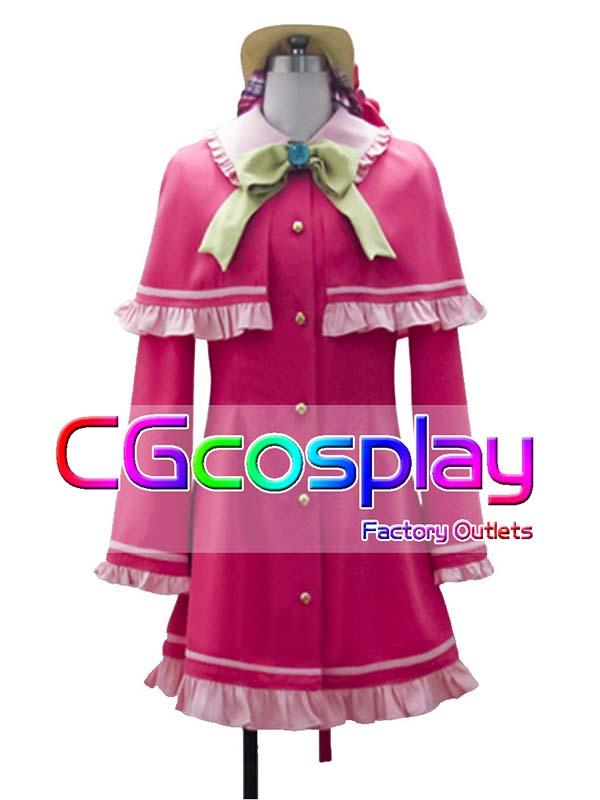 画像1: 激安!! 探偵オペラ ミルキィホームズ シャーロック・シェリンフォード コスプレ衣装 (1)