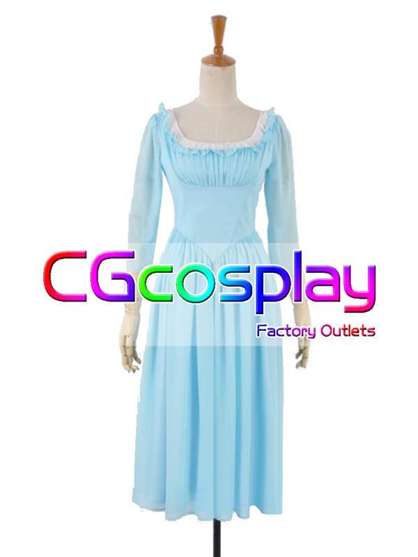 画像1: 激安!! ディズニー シンデレラ Cinderella シンデレラ 私服 コスプレ衣装 (1)