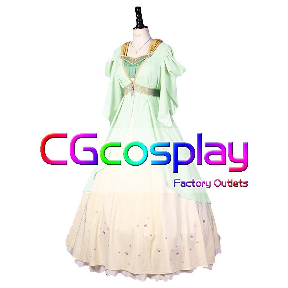 赤髪の白雪姫 白雪(しらゆき) ドレス コスプレ衣装 [C22007]