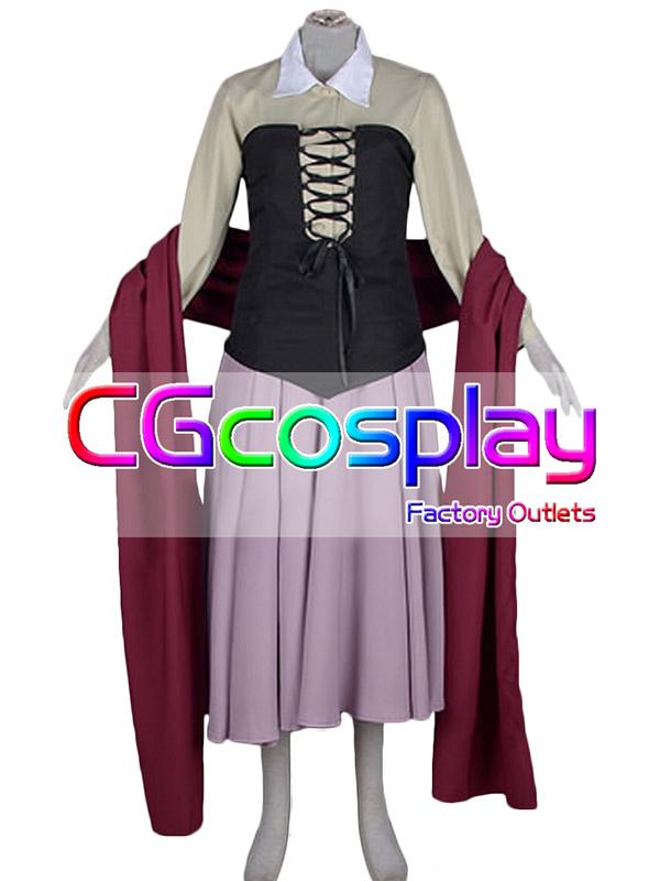 画像1: 激安!! ディズニー 眠れる森の美女 オーロラ姫 コスプレ衣装 (1)