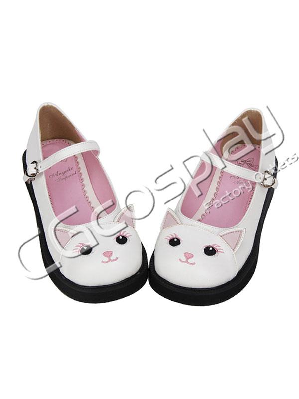画像1: 激安! 猫姫 プラットフォーム・ソール 厚底 靴 ブーツ (1)
