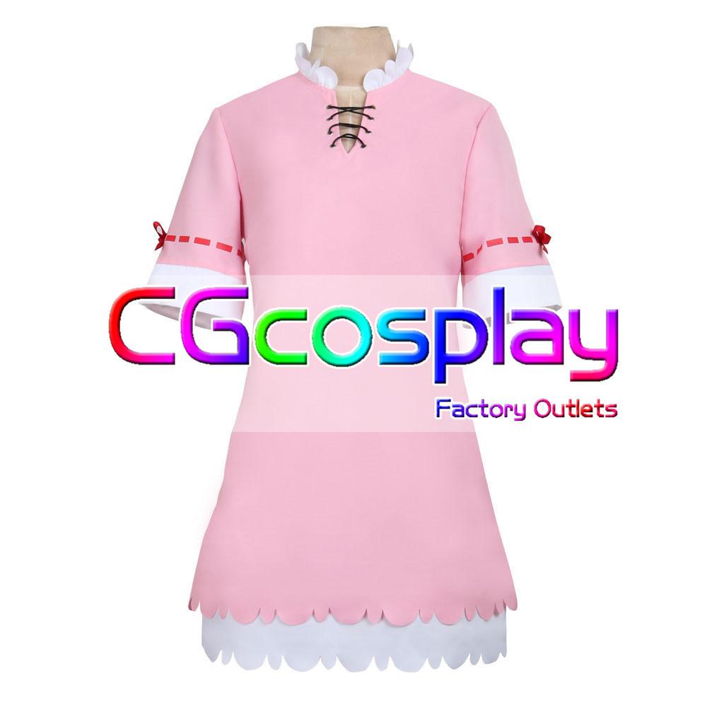 画像1: 激安!! 小林さんちのメイドラゴン カンナカムイ カンナ 日常服 コスプレ衣装 カンナ (1)