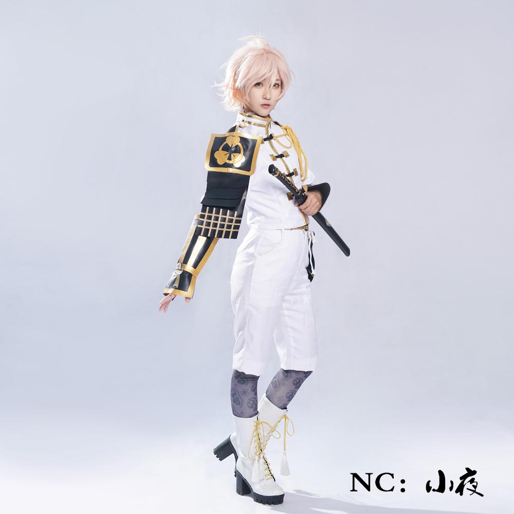 画像1: 激安!! 刀剣乱舞 物吉貞宗 防具付き コスプレ衣装 (1)