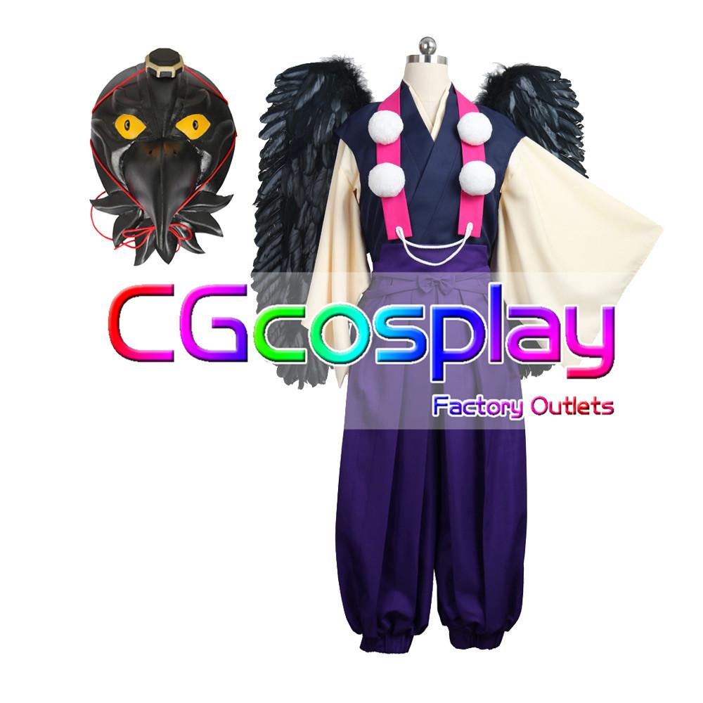 画像1: 激安!! A3!(エースリー) あやかし Midnight 斑鳩三角 コスプレ衣装 (1)
