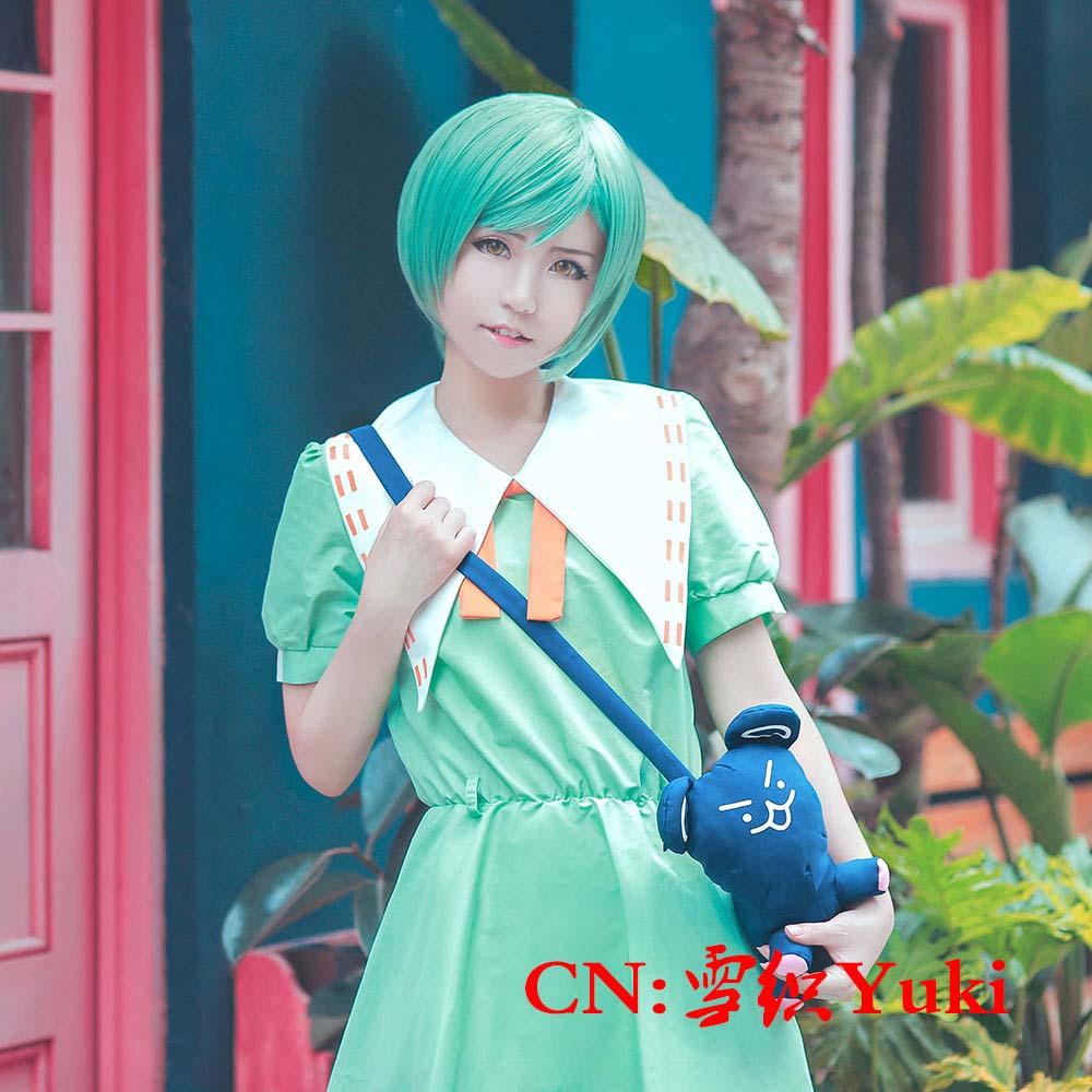 画像1: 激安!! A3!(エースリー) 瑠璃川幸 夏服 コスプレ衣装 (1)