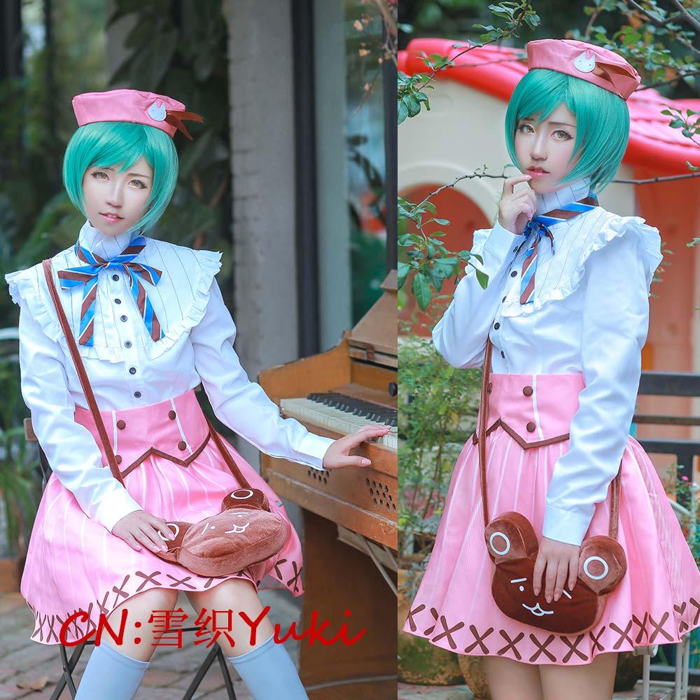 画像1: 激安!! A3!(エースリー) 夏組 瑠璃川幸 コスプレ衣装 (1)