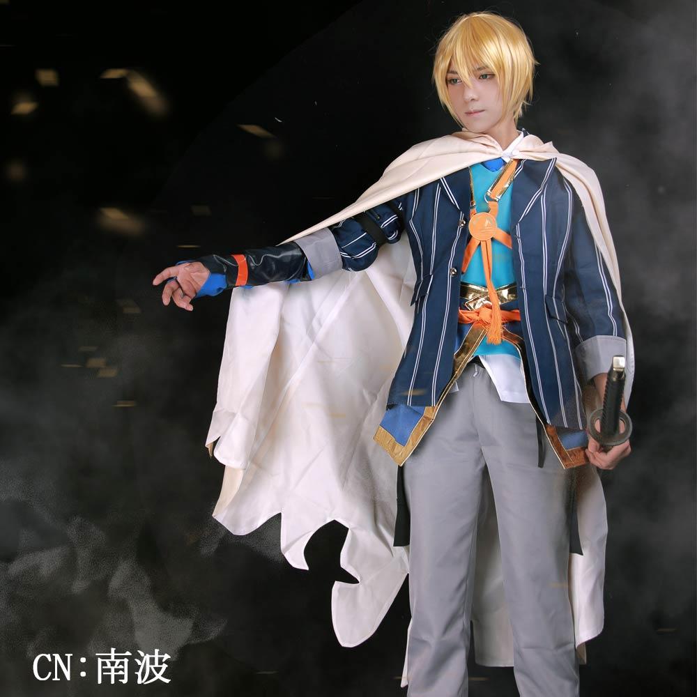 画像1: 激安!! 刀剣乱舞 山姥切国広 コスプレ衣装 (1)